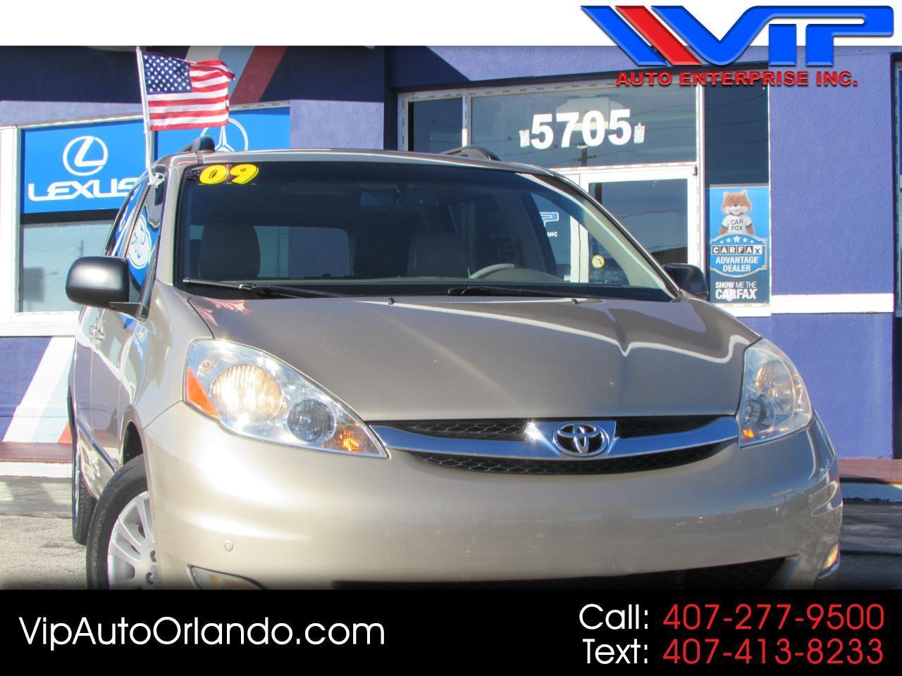 2009 Toyota Sienna 5dr 7-Pass Van XLE Ltd FWD (Natl)