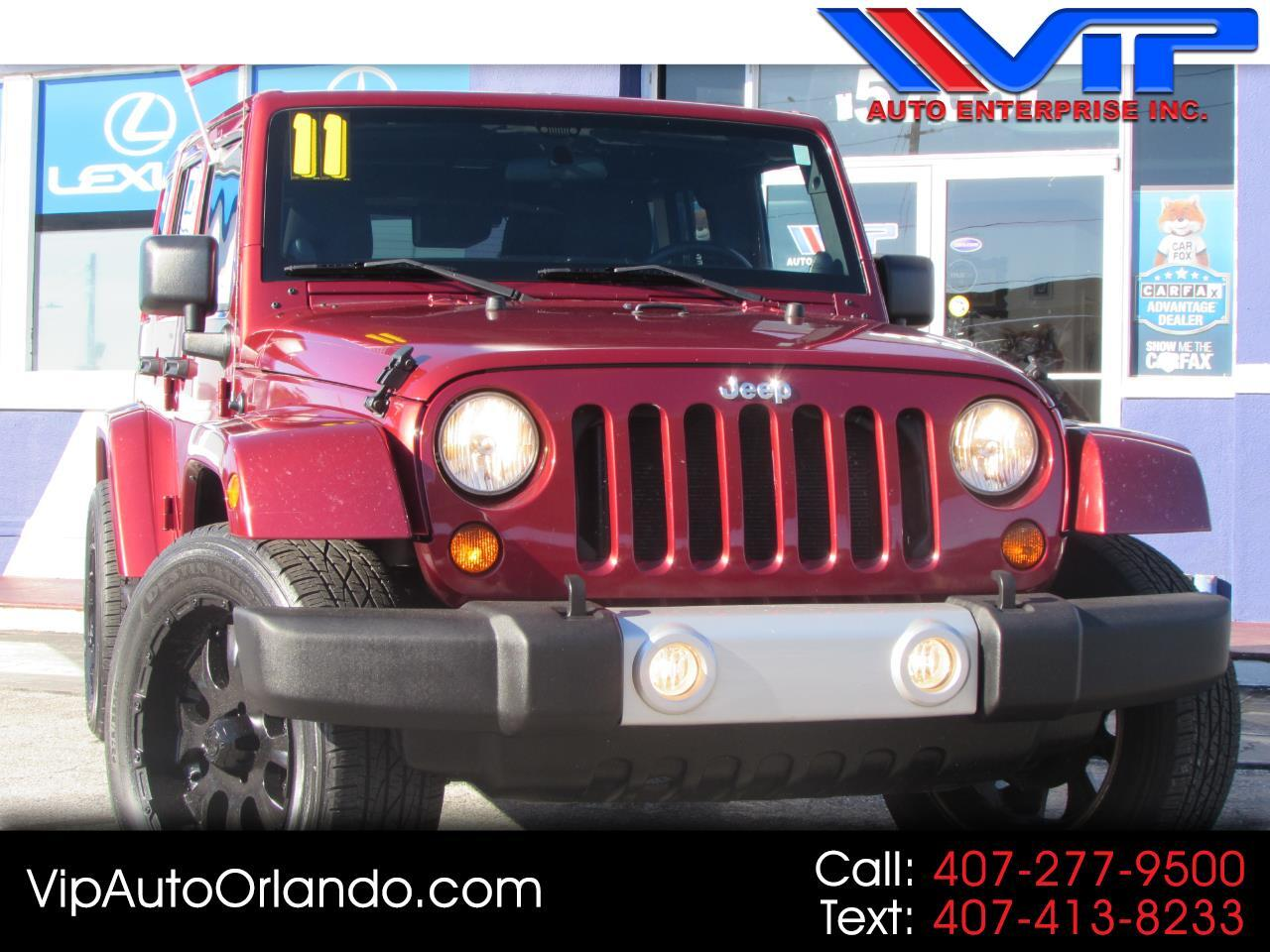2011 Jeep Wrangler Unlimited 4WD 4dr Sahara Unlimited