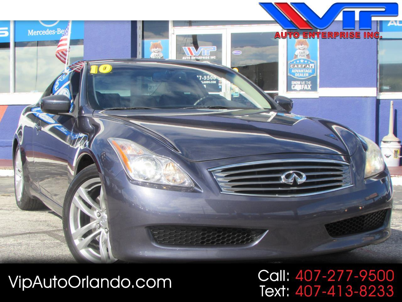 2010 Infiniti G37 Coupe 2dr Journey RWD
