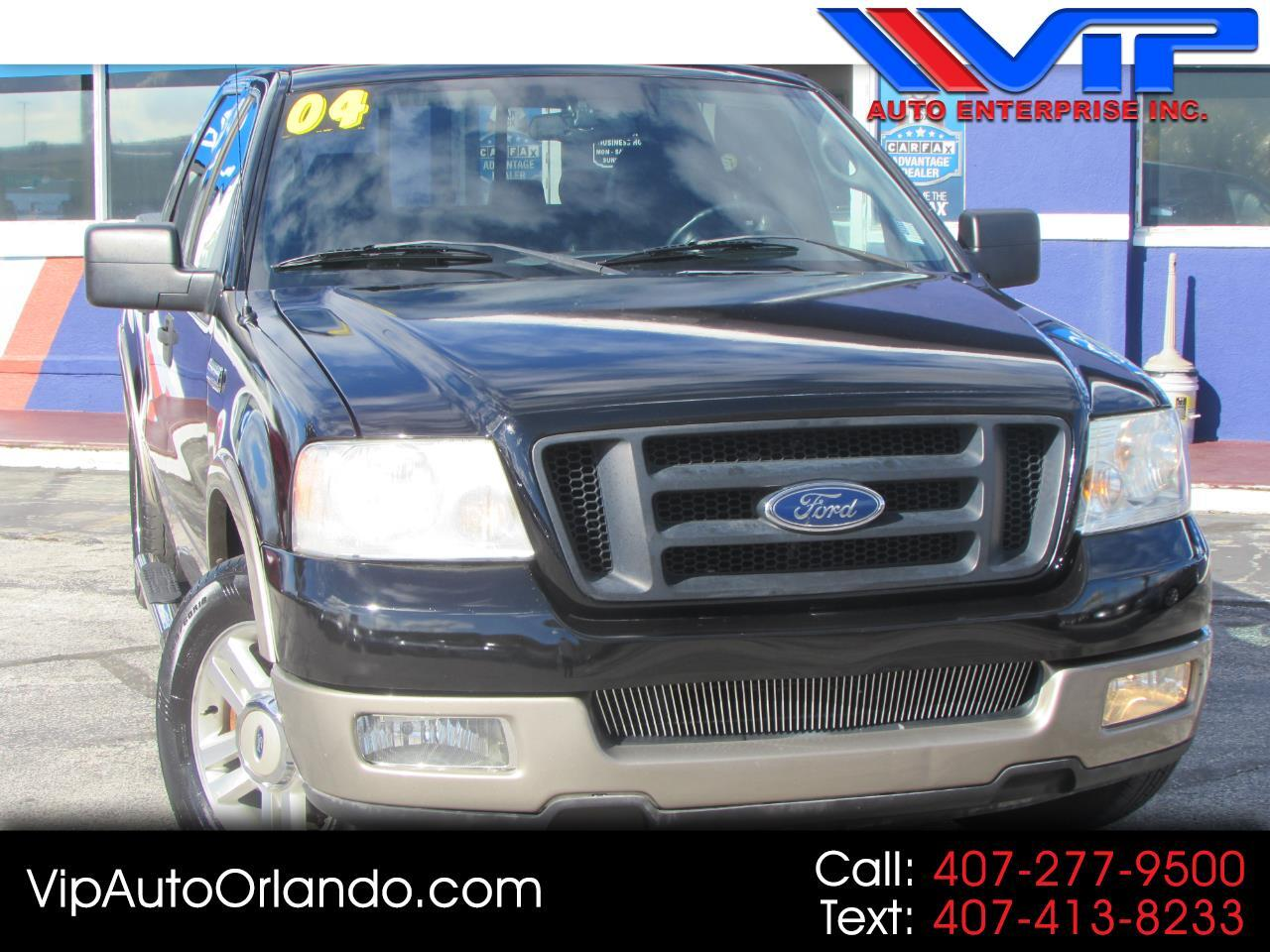 "2004 Ford F-150 SuperCrew 139"" Lariat"