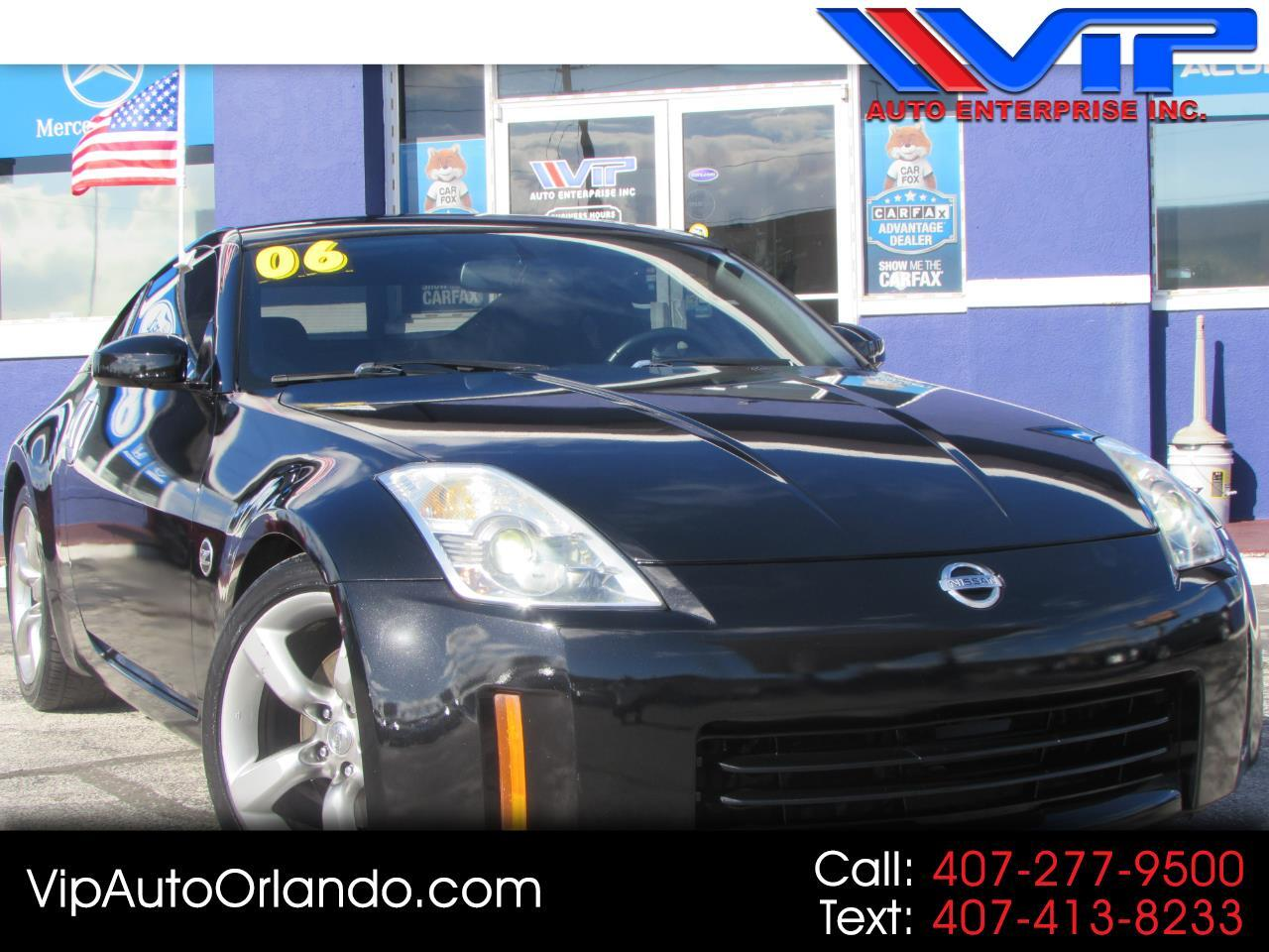 2006 Nissan 350Z 2dr Cpe Touring Manual