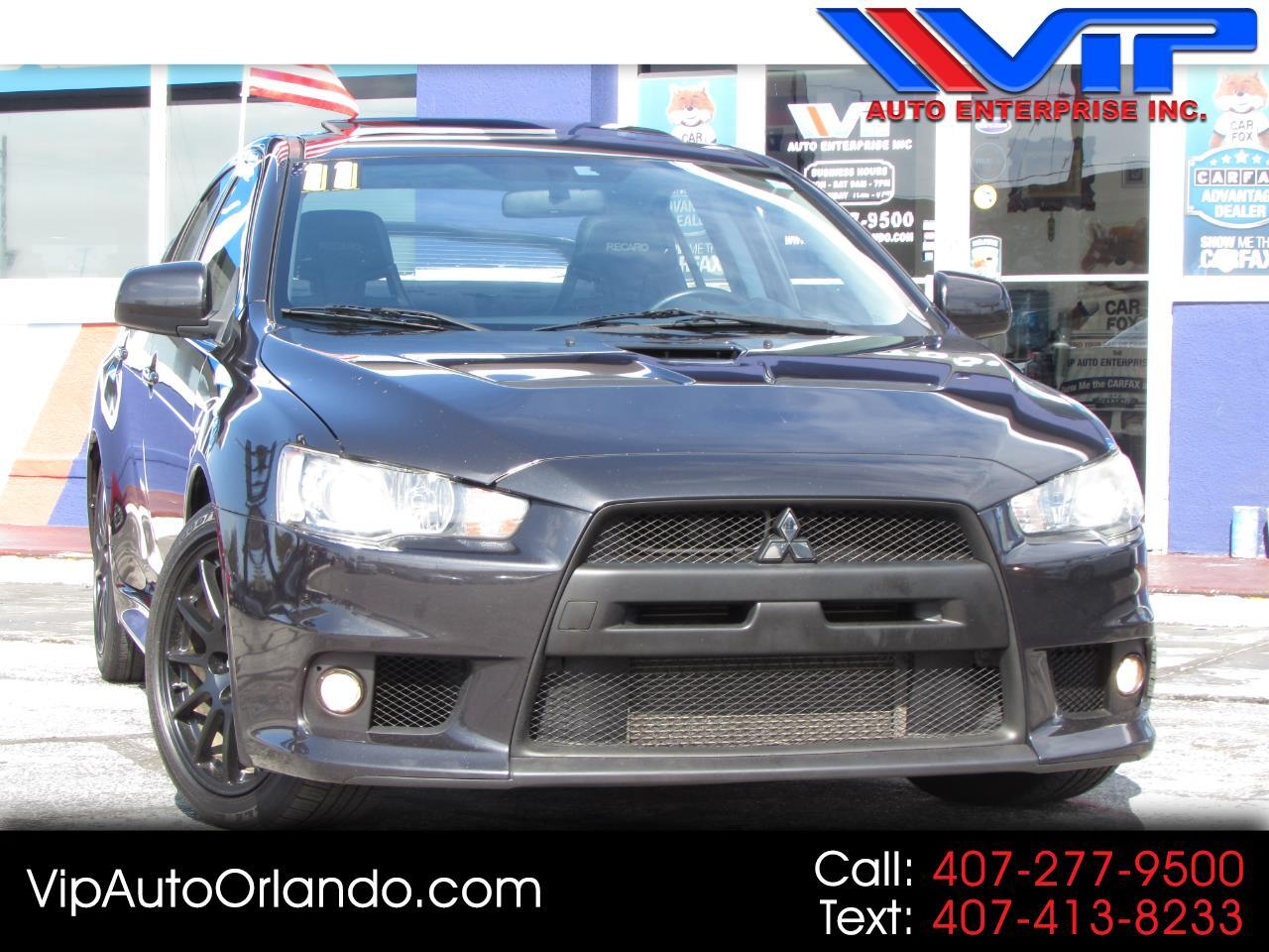 2011 Mitsubishi Lancer 4dr Sdn Man Evolution GSR AWD