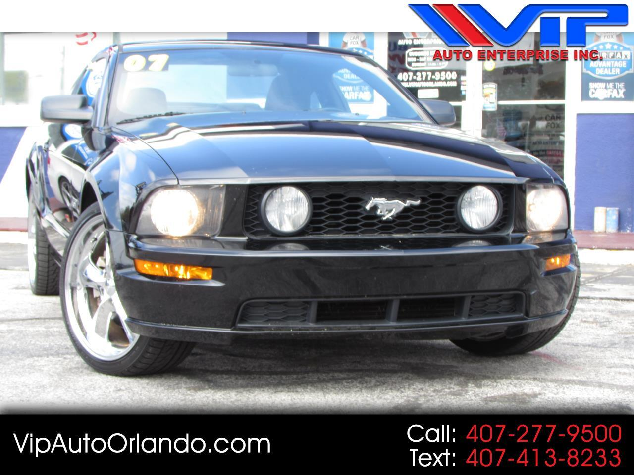 2007 Ford Mustang 2dr Cpe GT Premium