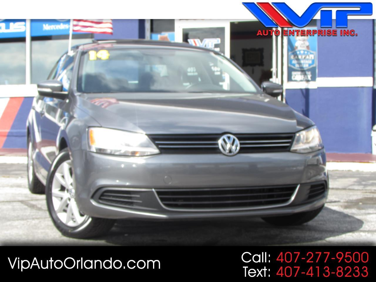 2014 Volkswagen Jetta Sedan 4dr Auto SE w/Connectivity/Sunroof