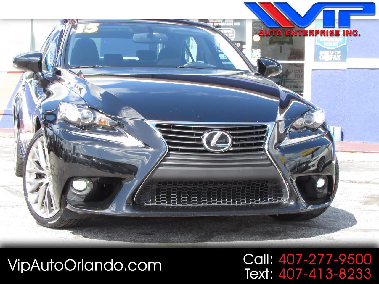 2015 Lexus IS 250 4dr Sport Sdn Crafted Line RWD