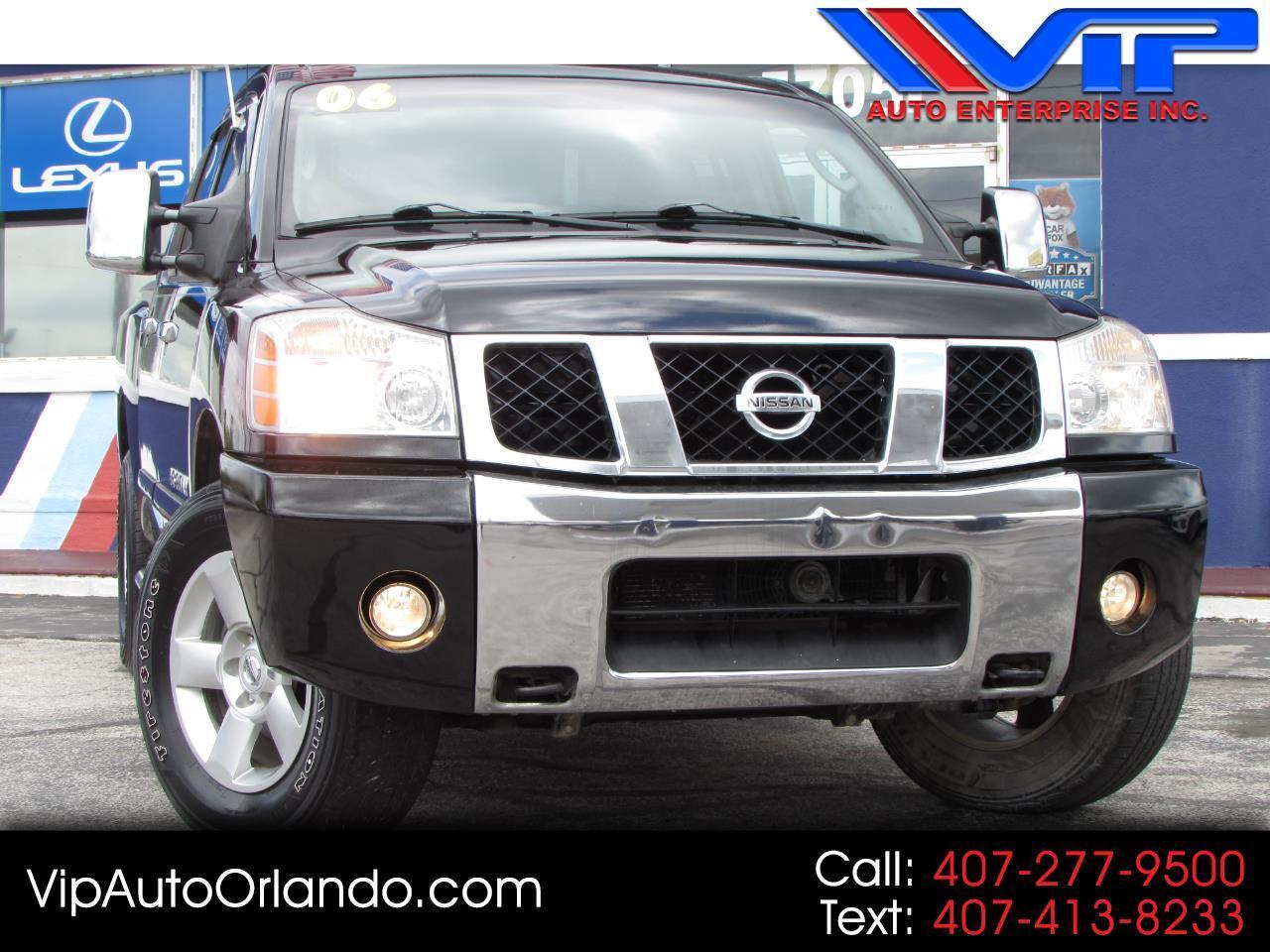 2006 Nissan Titan SE Crew Cab 4WD FFV