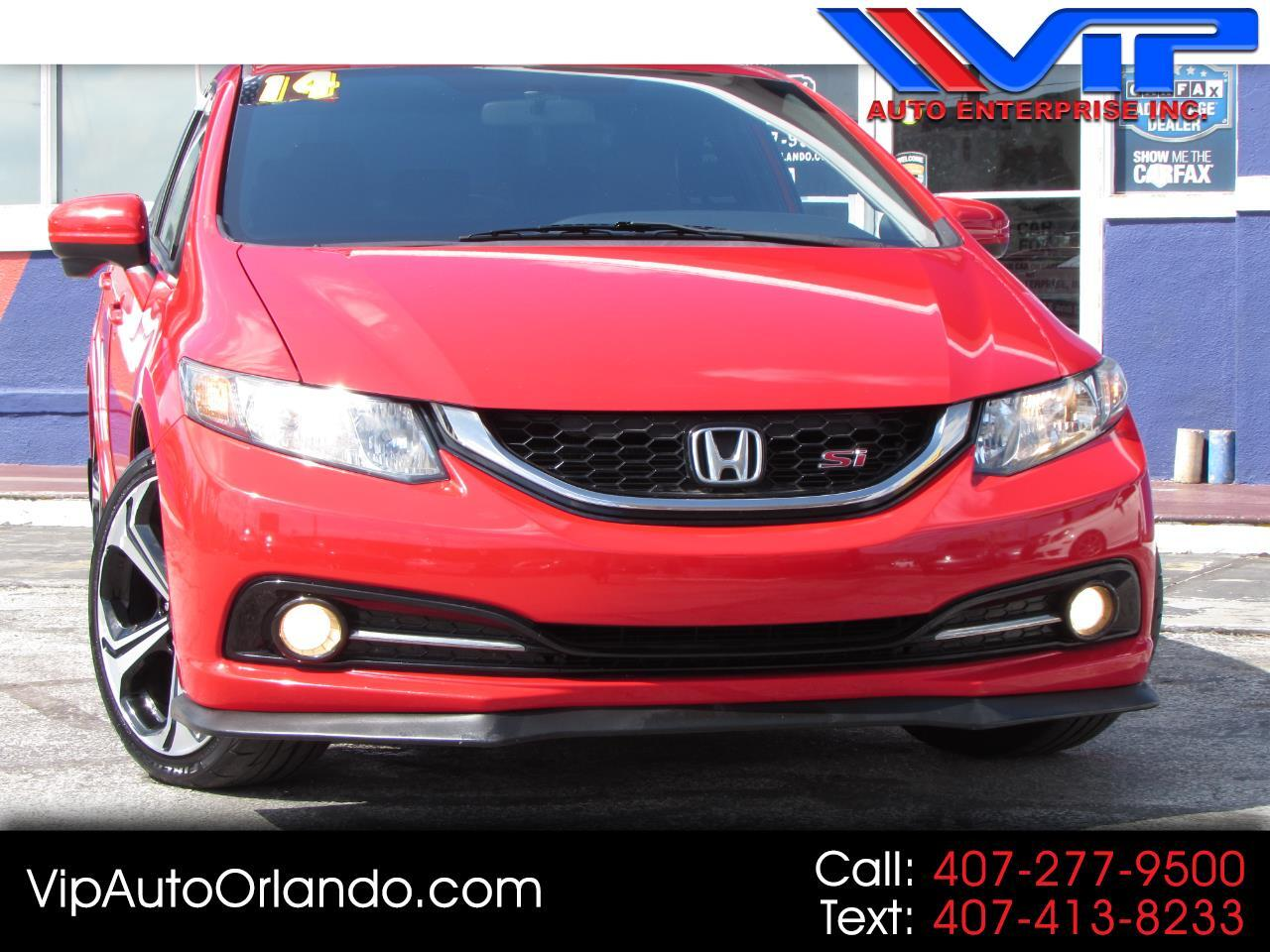 2014 Honda Civic Sedan 4dr Man Si
