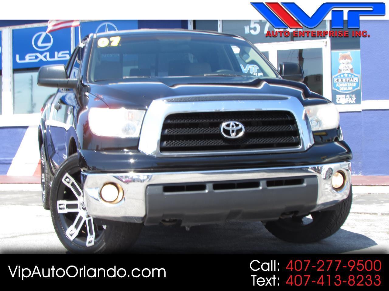 "2007 Toyota Tundra 2WD Double 145.7"" 5.7L V8 SR5 (Natl"