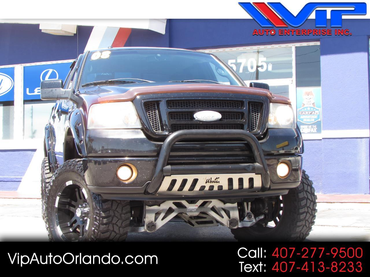 """2008 Ford F-150 4WD SuperCrew 150"""" FX4"""