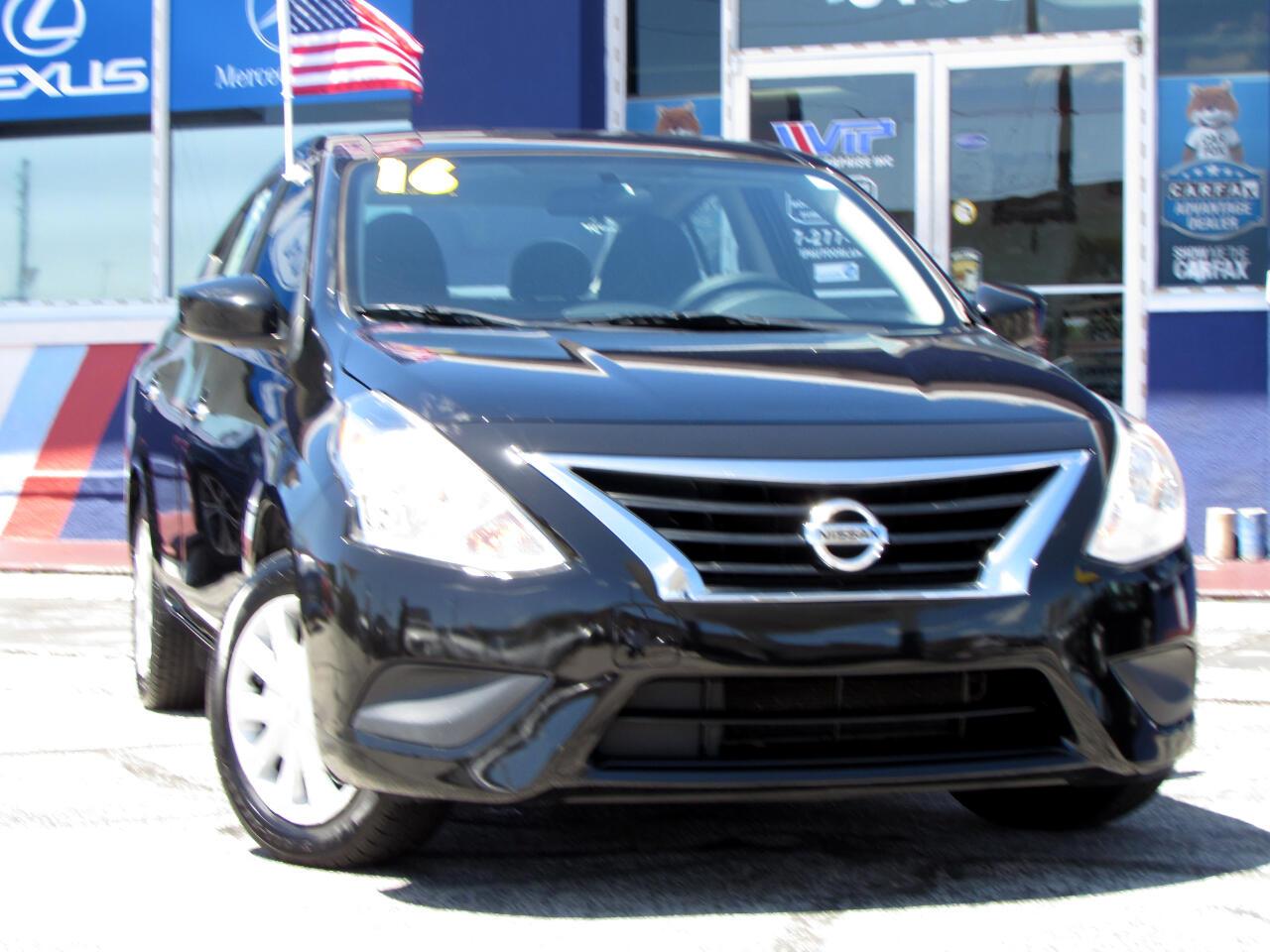 Nissan Versa 4dr Sdn CVT 1.6 S Plus 2016