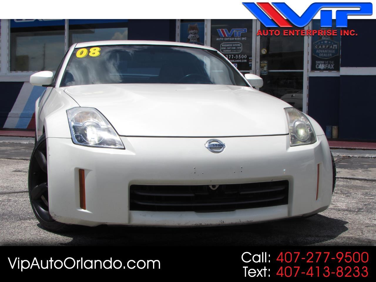 2008 Nissan 350Z  for sale VIN: JN1BZ34E18M751055