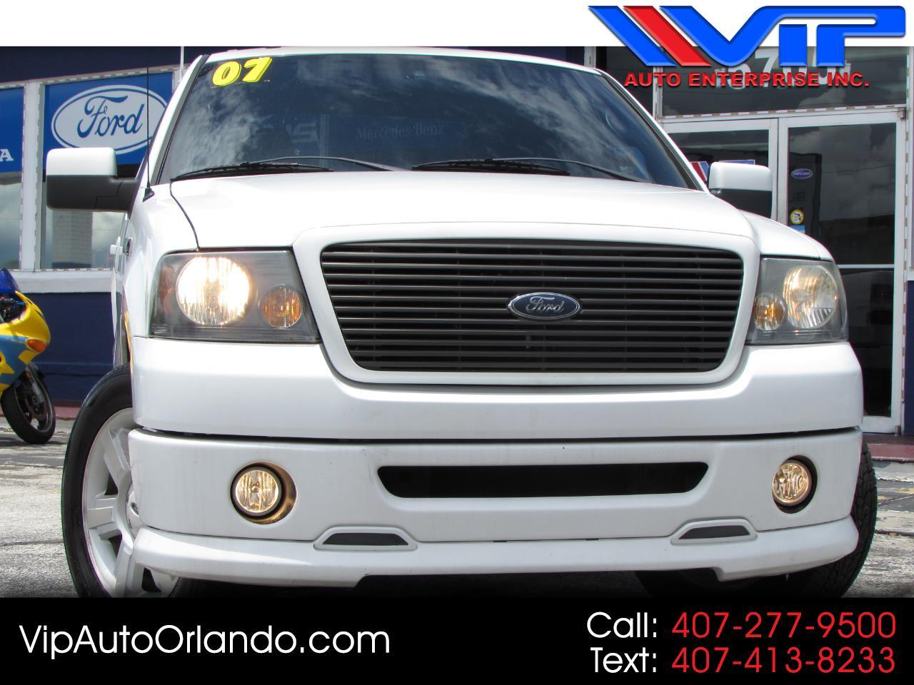 """2007 Ford F-150 2WD SuperCrew 150"""" FX2"""