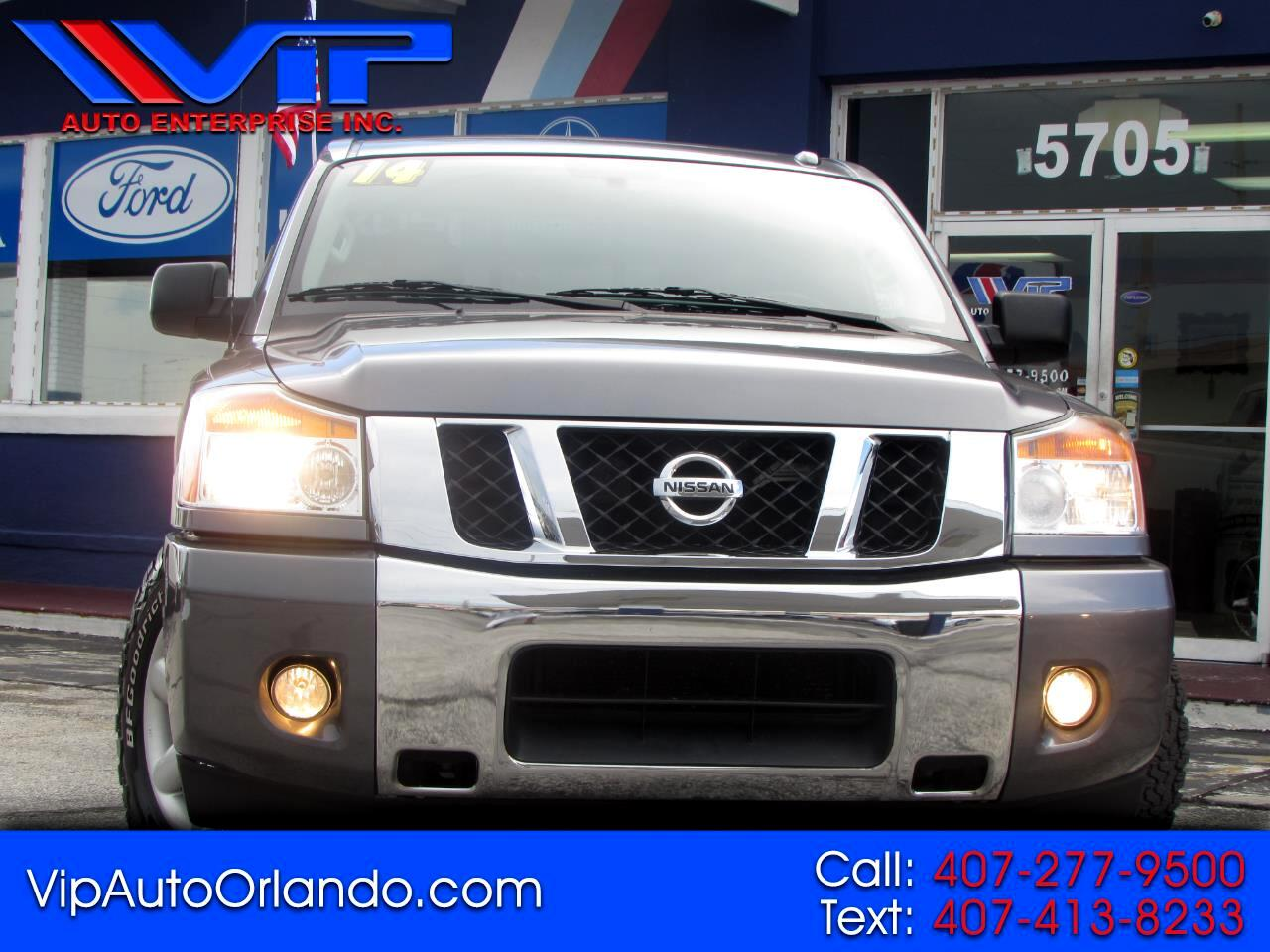Nissan Titan 2WD King Cab SWB SV 2014
