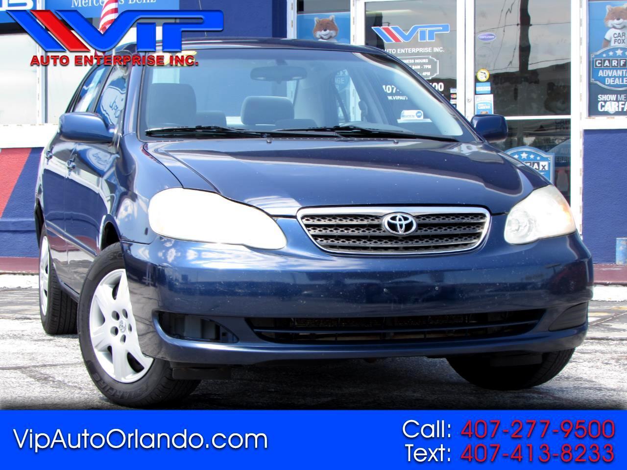 Toyota Corolla 4dr Sdn LE Auto (Natl) 2005