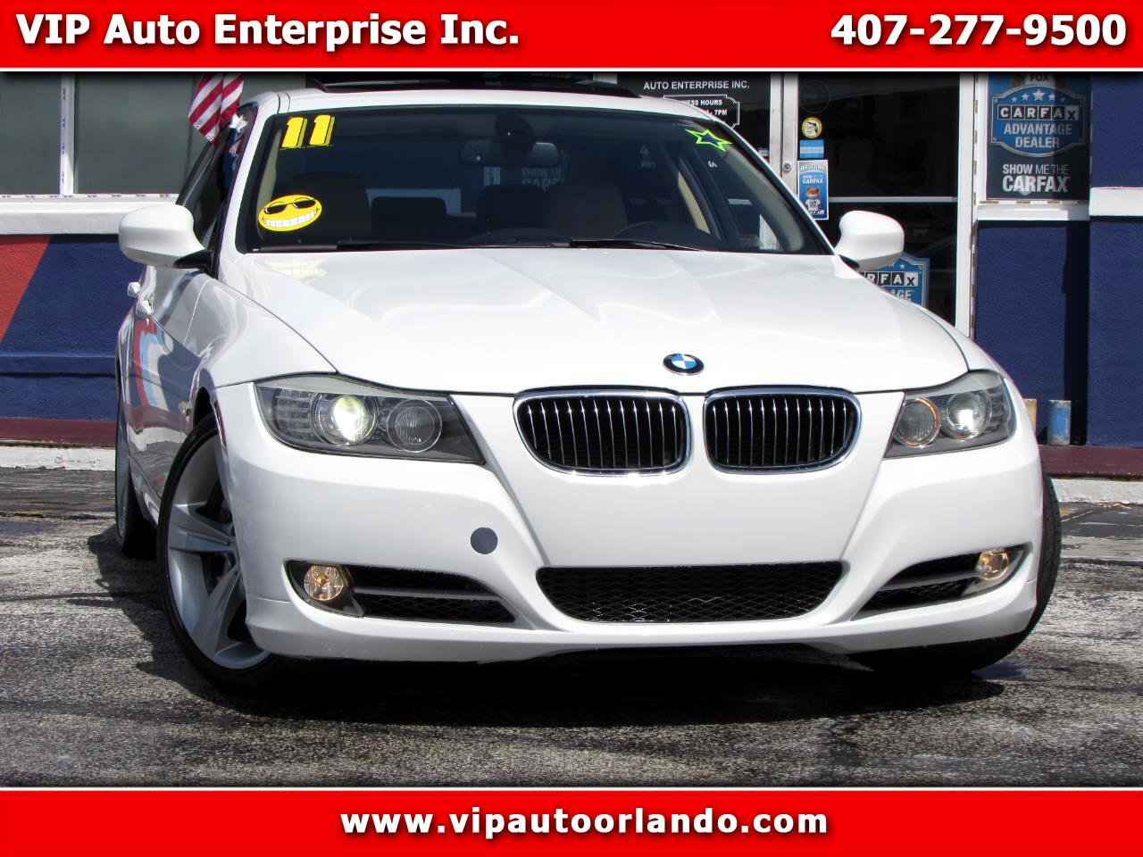 2011 BMW 3 Series 4dr Sdn 335i RWD