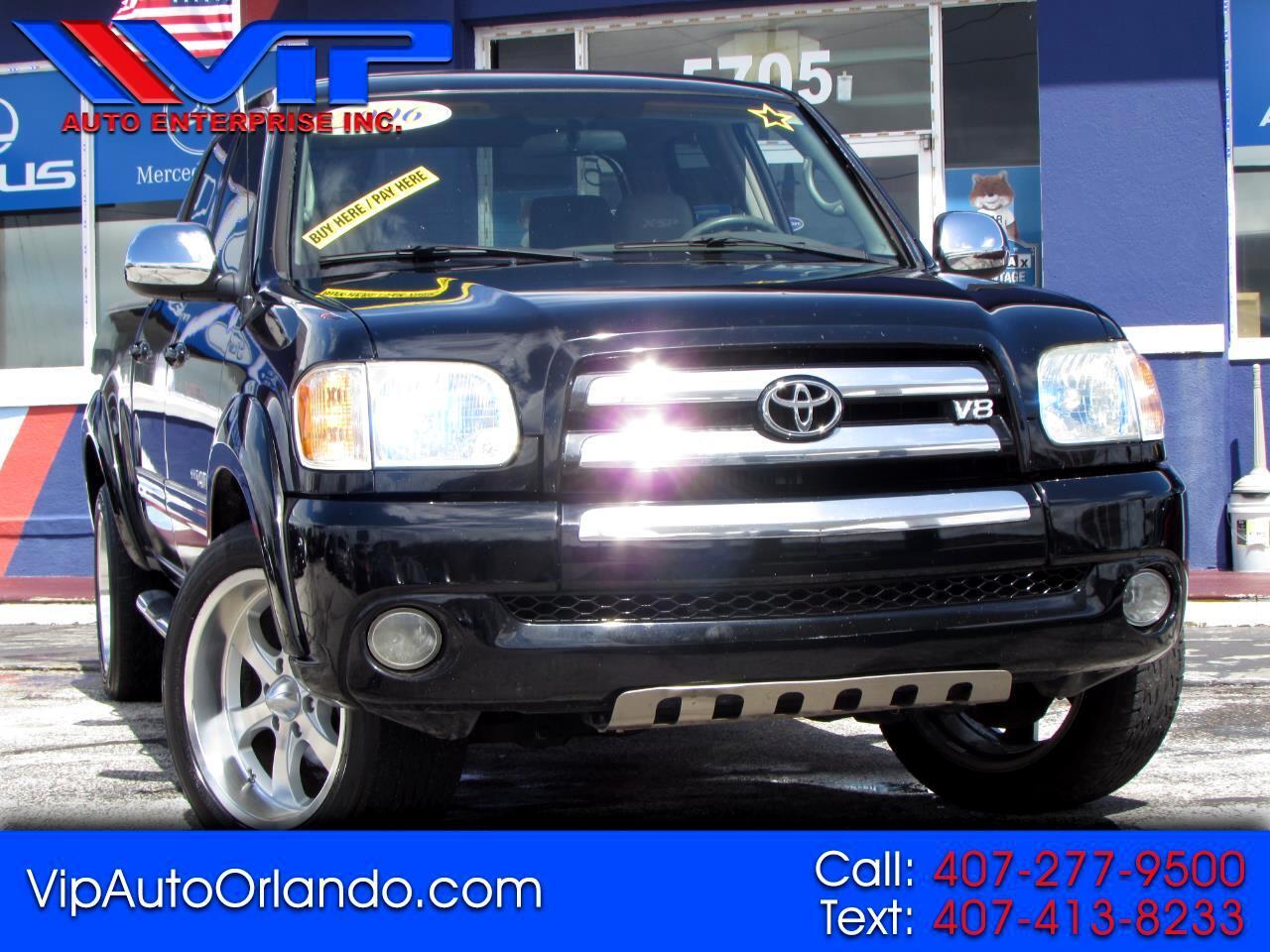 Toyota Tundra DoubleCab V8 SR5 (Natl) 2006