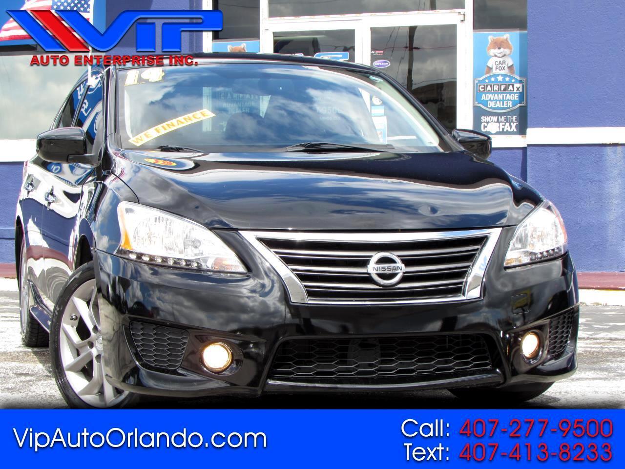Nissan Sentra 4dr Sdn I4 CVT SR 2014