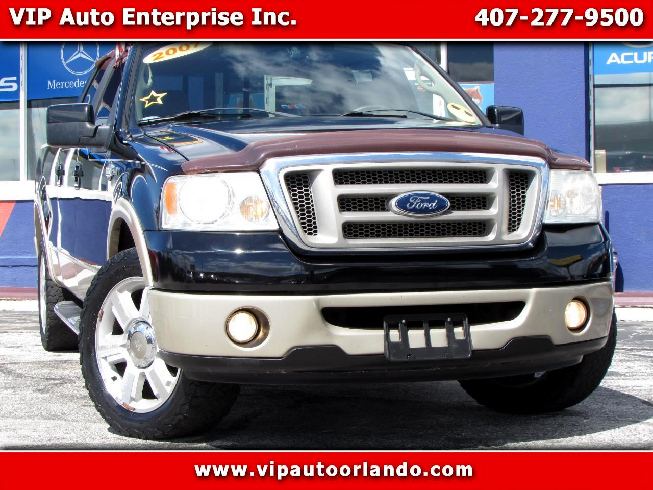 "2007 Ford F-150 2WD SuperCrew 139"" King Ranch"