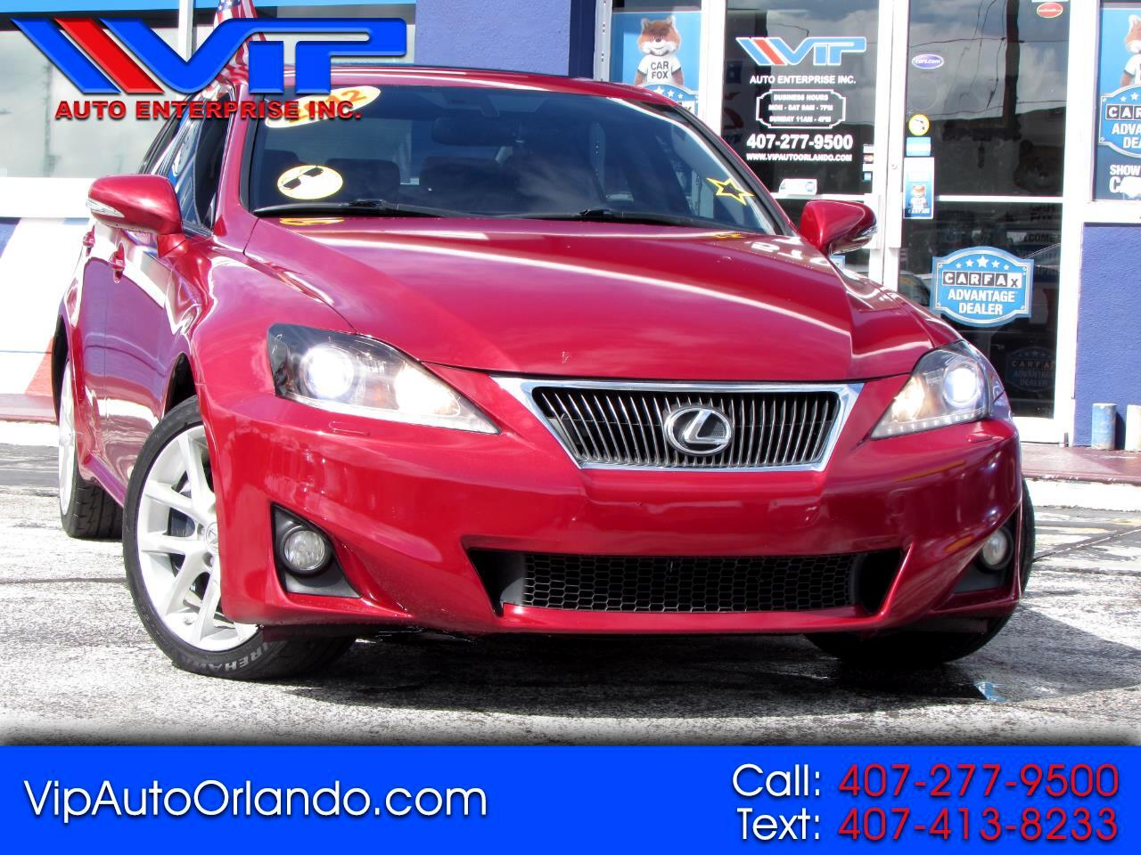 Lexus IS 350 4dr Sdn AWD 2012