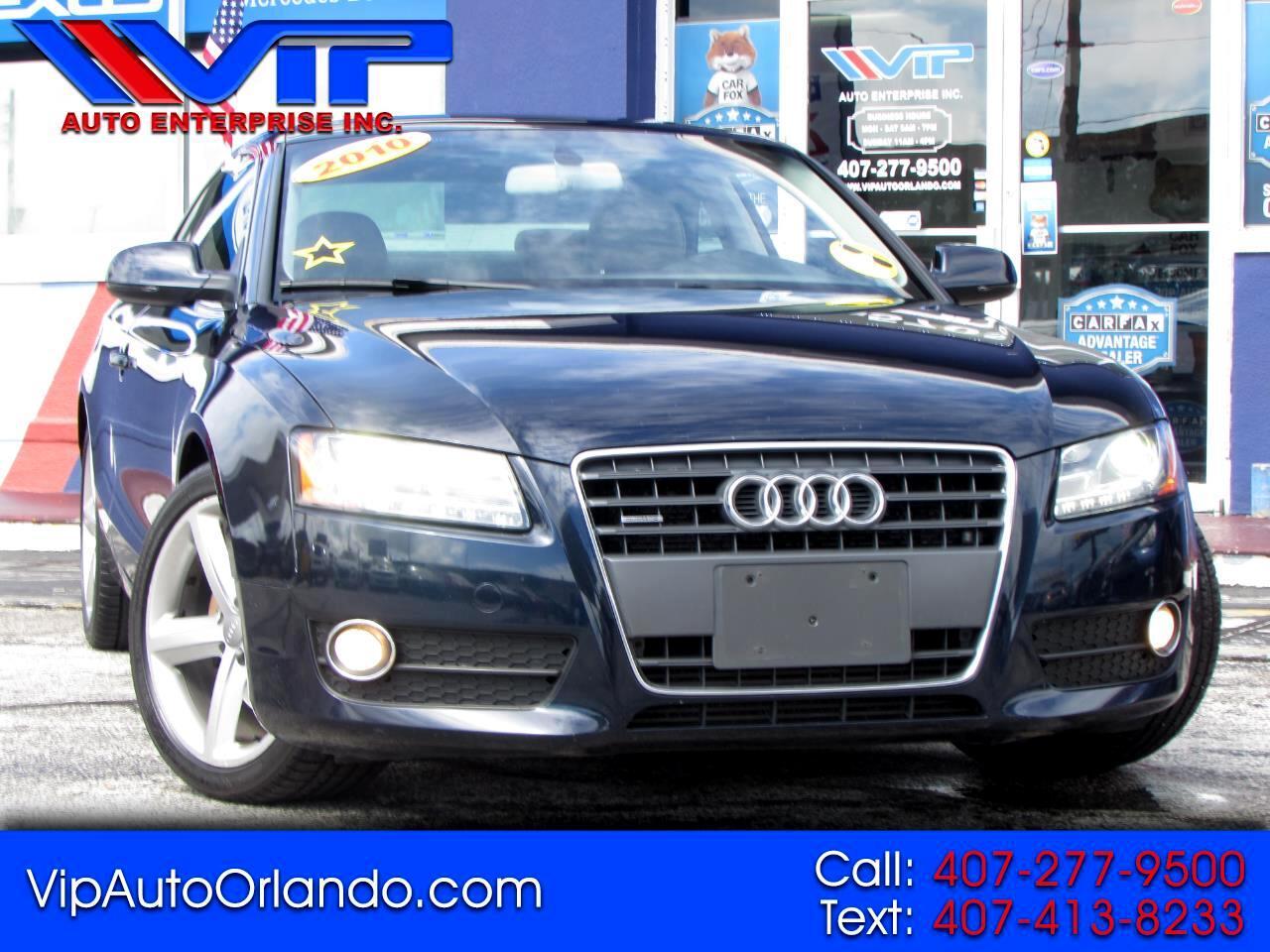 Audi A5 2dr Cpe Auto quattro 2.0L Premium Plus 2010