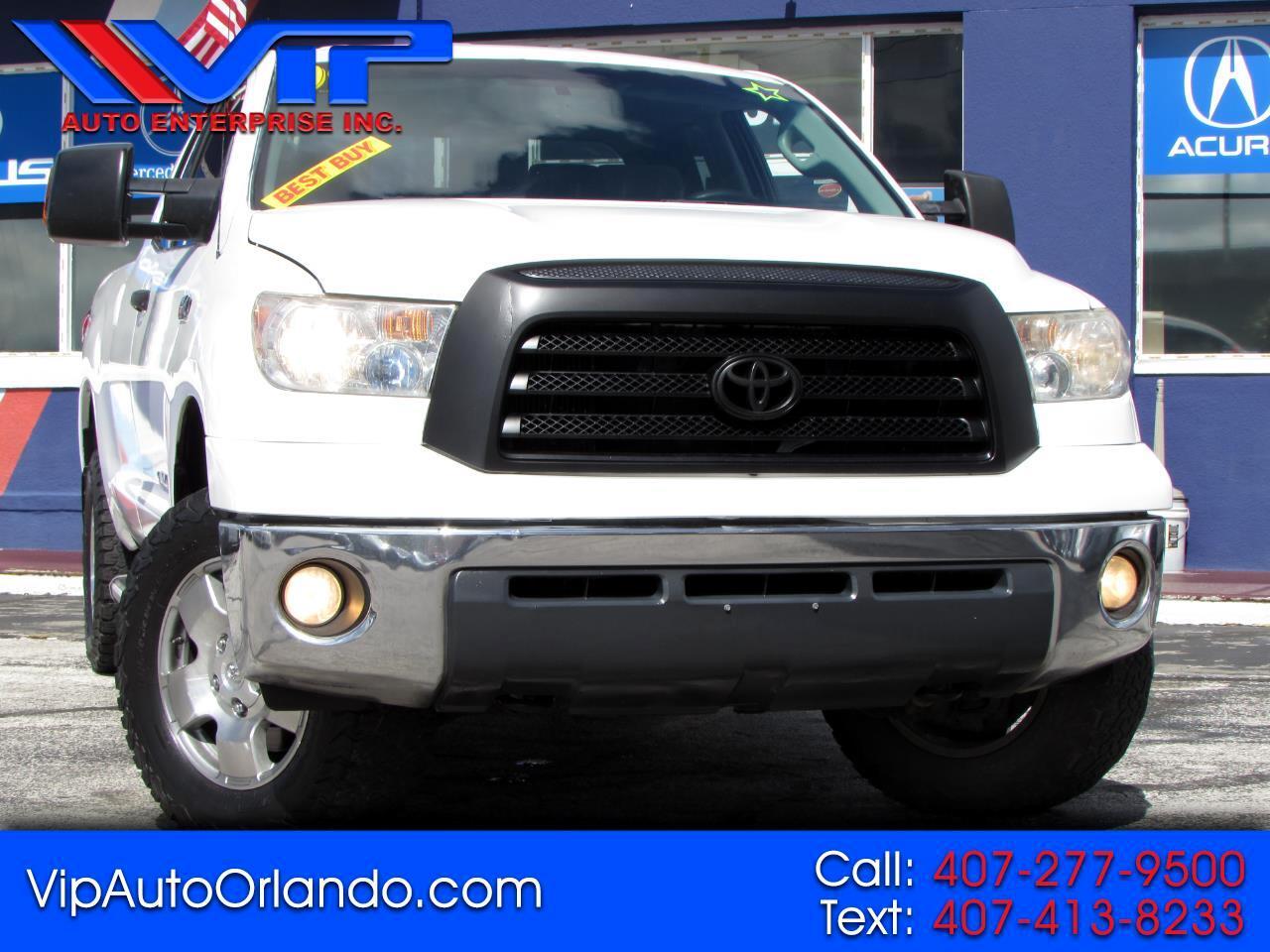 Toyota Tundra 4WD Truck Dbl 5.7L FFV V8 6-Spd AT (Natl) 2009