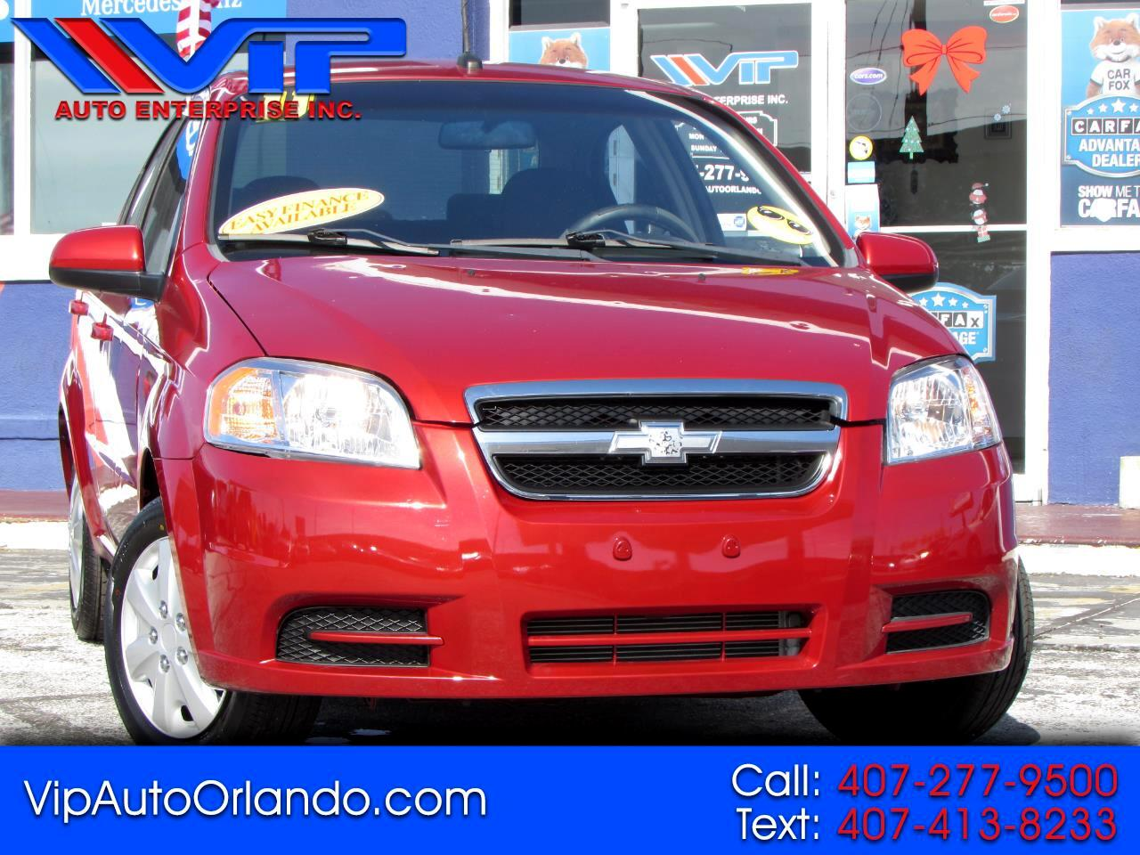 Chevrolet Aveo 4dr Sdn LT w/1LT 2011