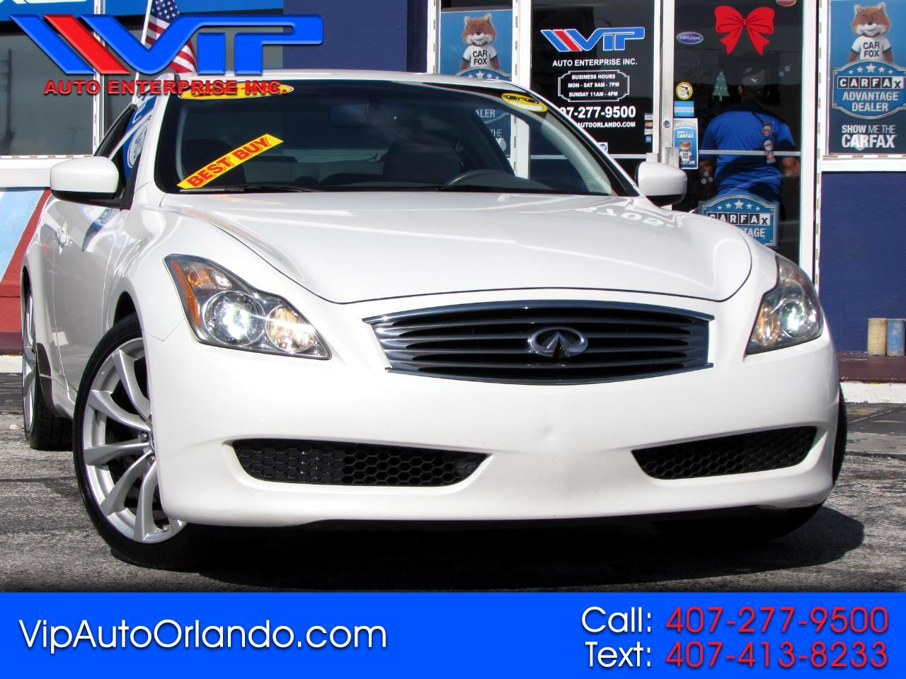 Infiniti G37 Coupe 2dr Journey RWD 2010