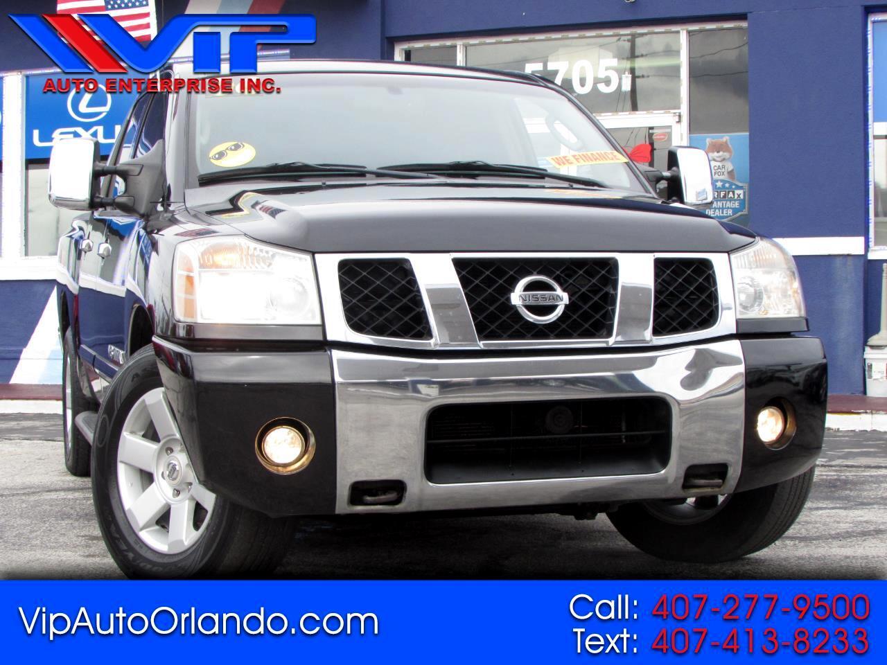 Nissan Titan LE Crew Cab 2WD FFV 2006