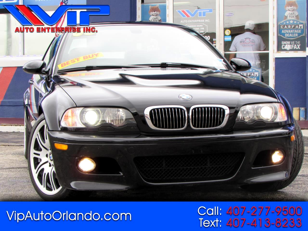 BMW 3 Series M3 2dr Convertible 2005