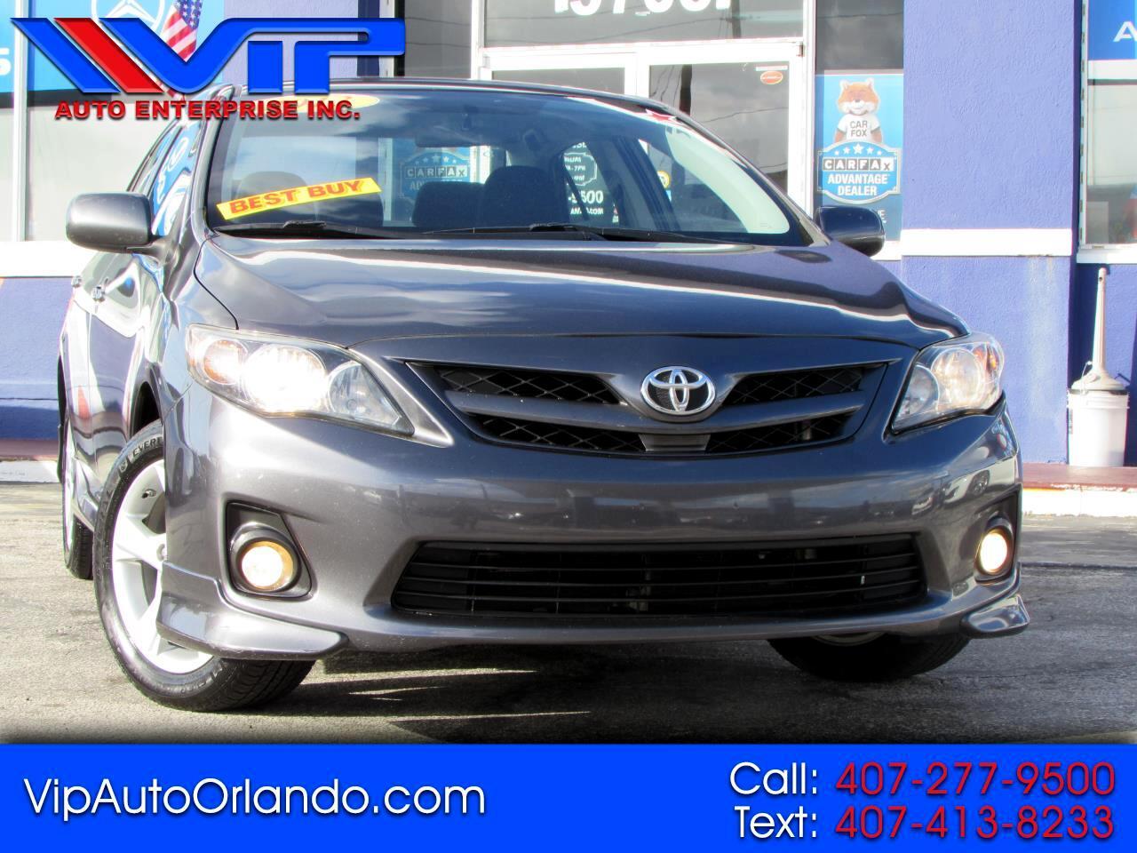 Toyota Corolla 4dr Sdn Auto S Special Edition (Natl) 2013