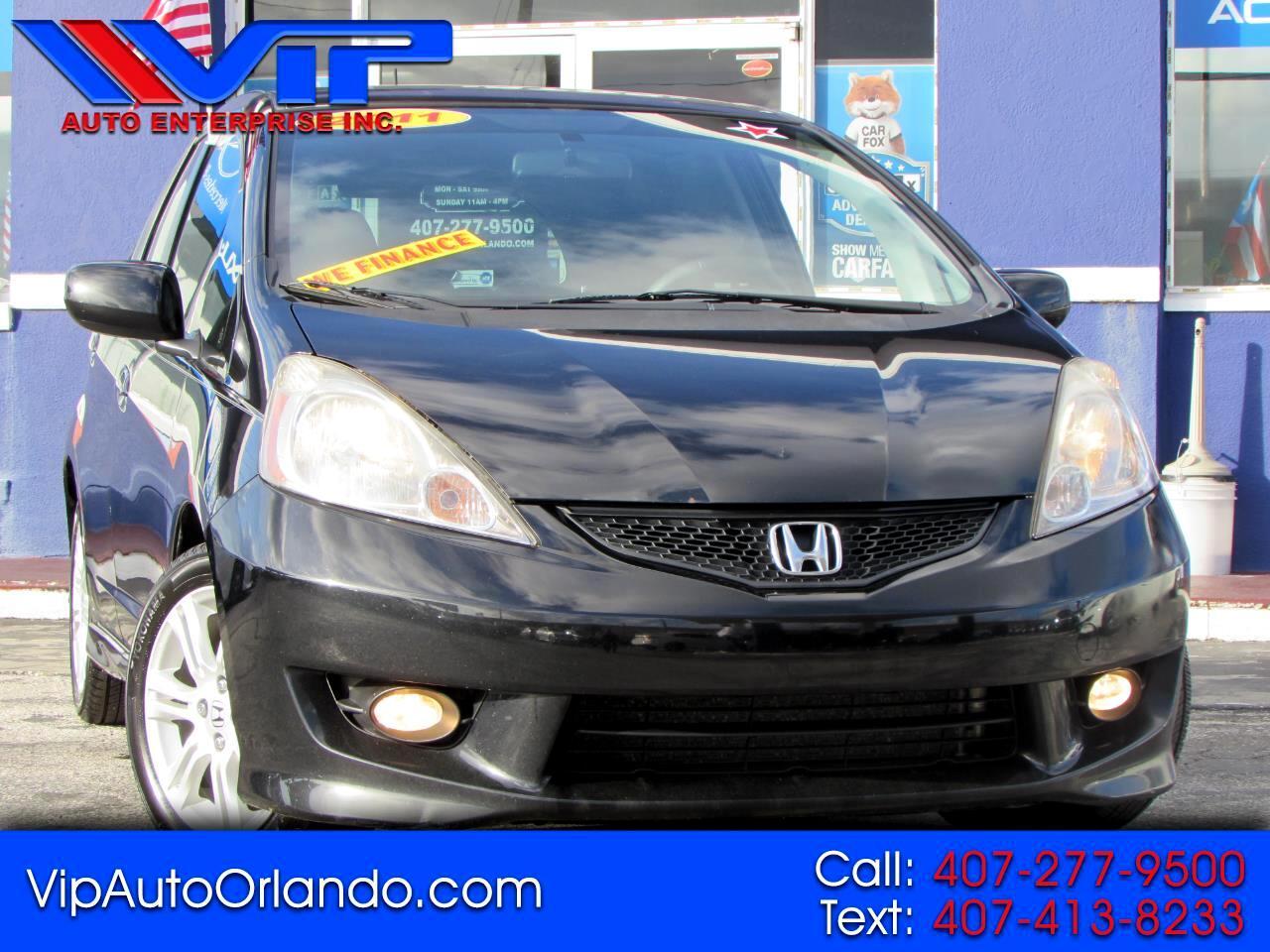Honda Fit 5dr HB Auto Sport 2011