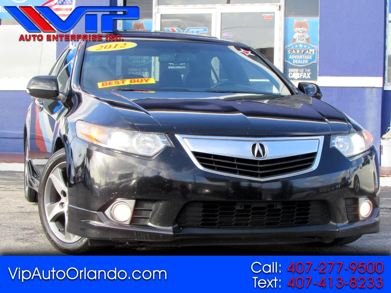 Acura TSX 4dr Sdn I4 Man Special Edition 2012