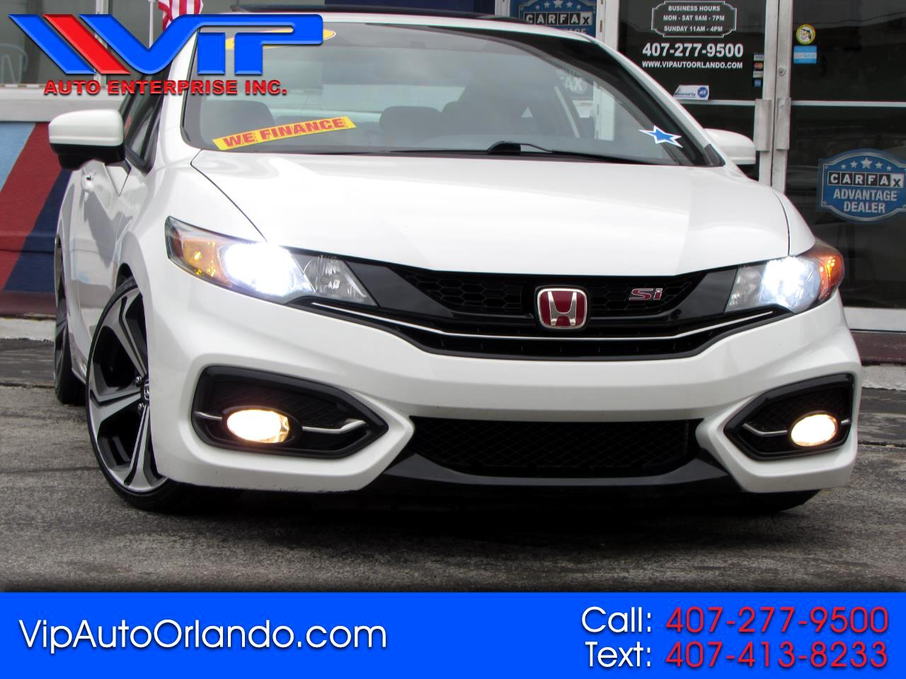 Honda Civic Coupe 2dr Man Si w/Summer Tires 2015