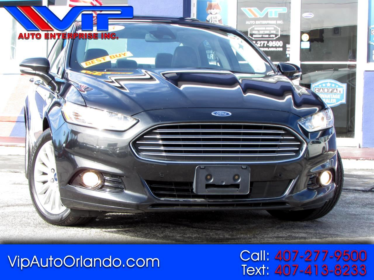 Ford Fusion Energi 4dr Sdn Titanium 2013