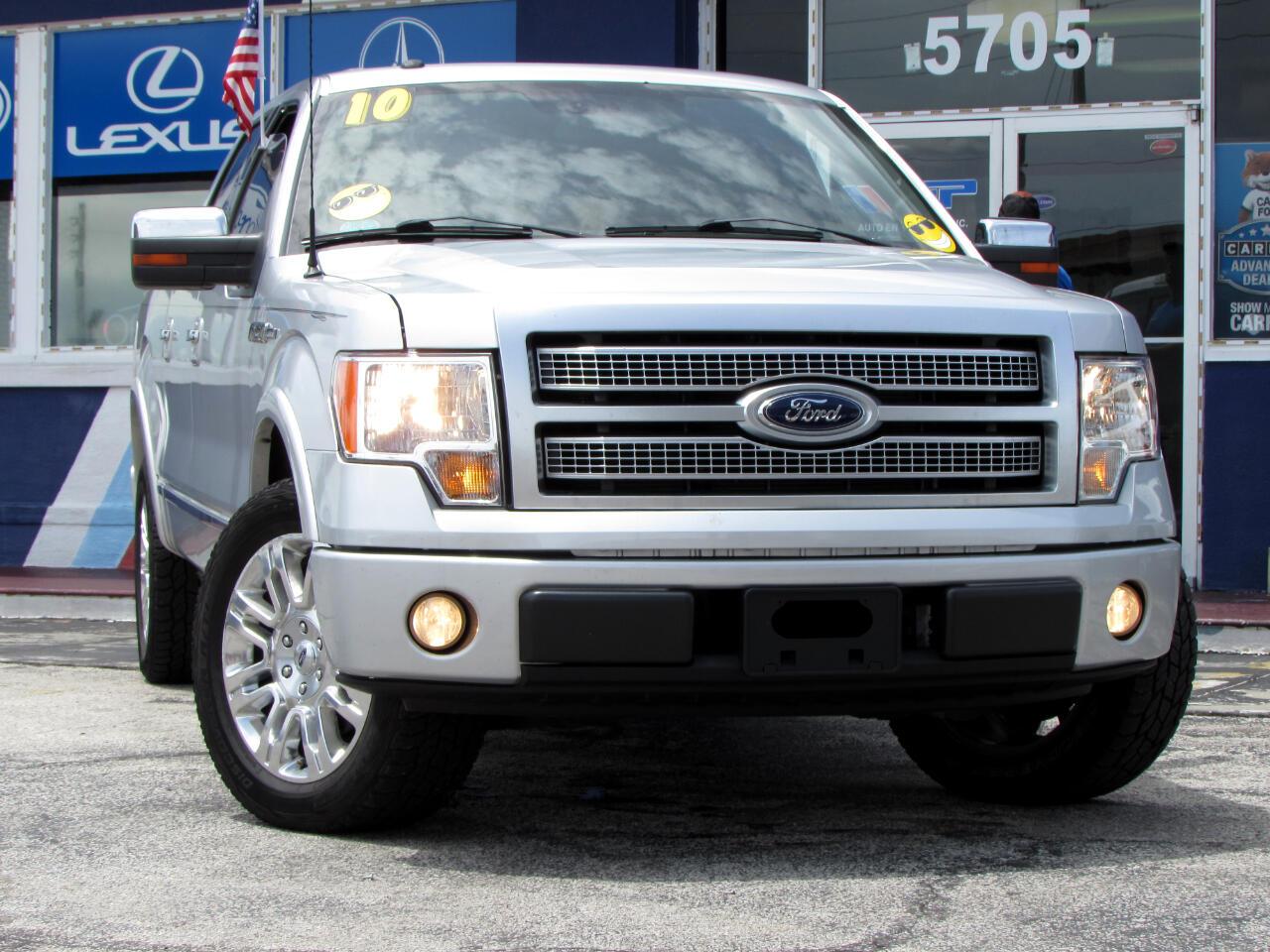 """Ford F-150 2WD SuperCrew 157"""" Platinum 2010"""