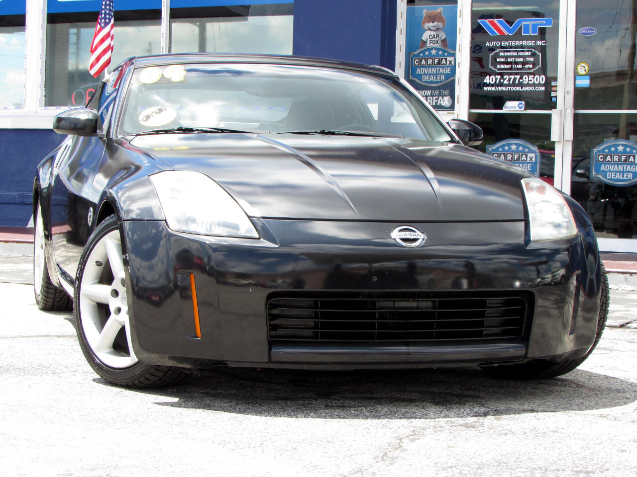 Nissan 350Z 2dr Cpe Touring Manual 2004
