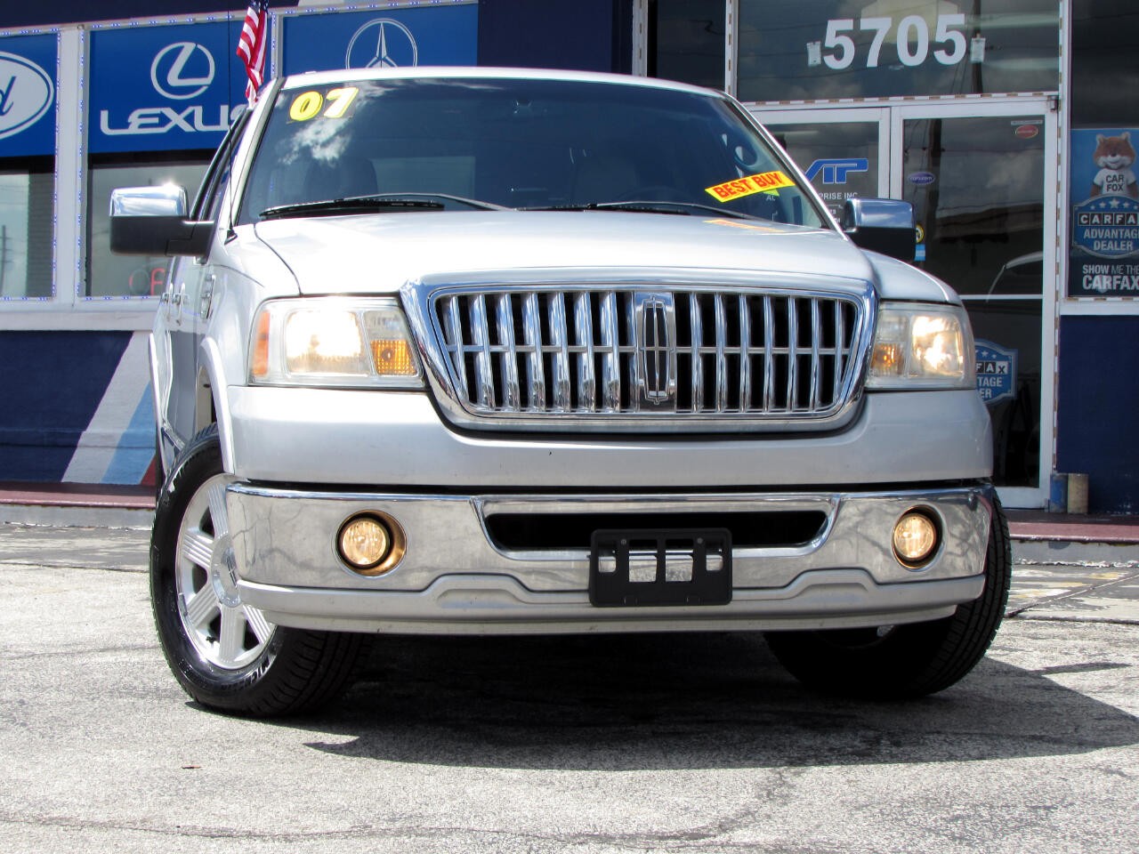 "Lincoln Mark LT 2WD Supercrew 139"" 2007"