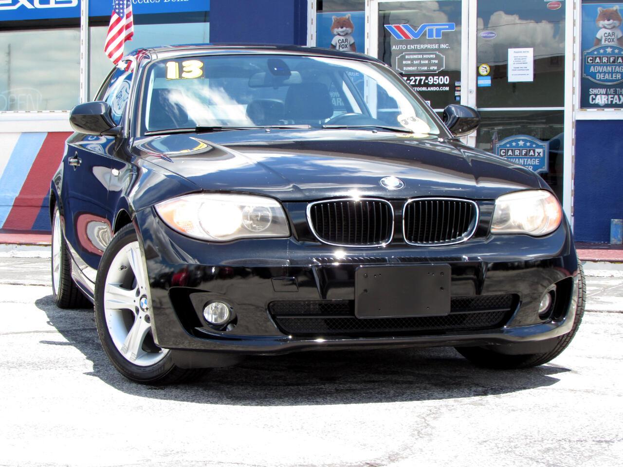 BMW 1 Series 2dr Cpe 128i SULEV 2013