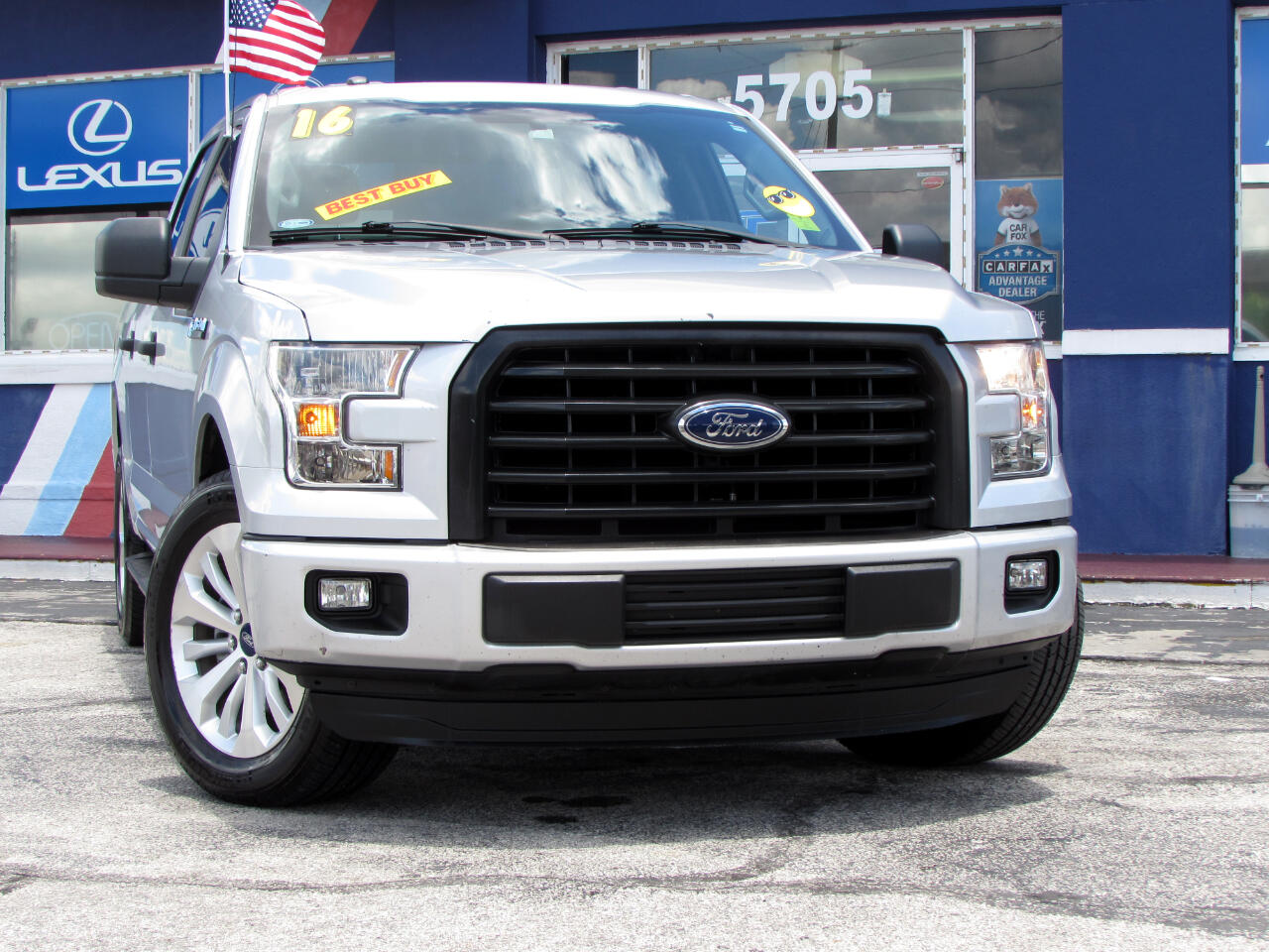 "Ford F-150 2WD SuperCrew 157"" XL 2016"
