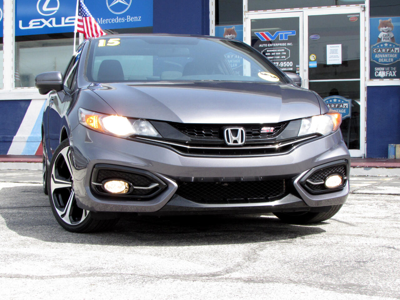 Honda Civic Coupe 2dr Man Si 2015