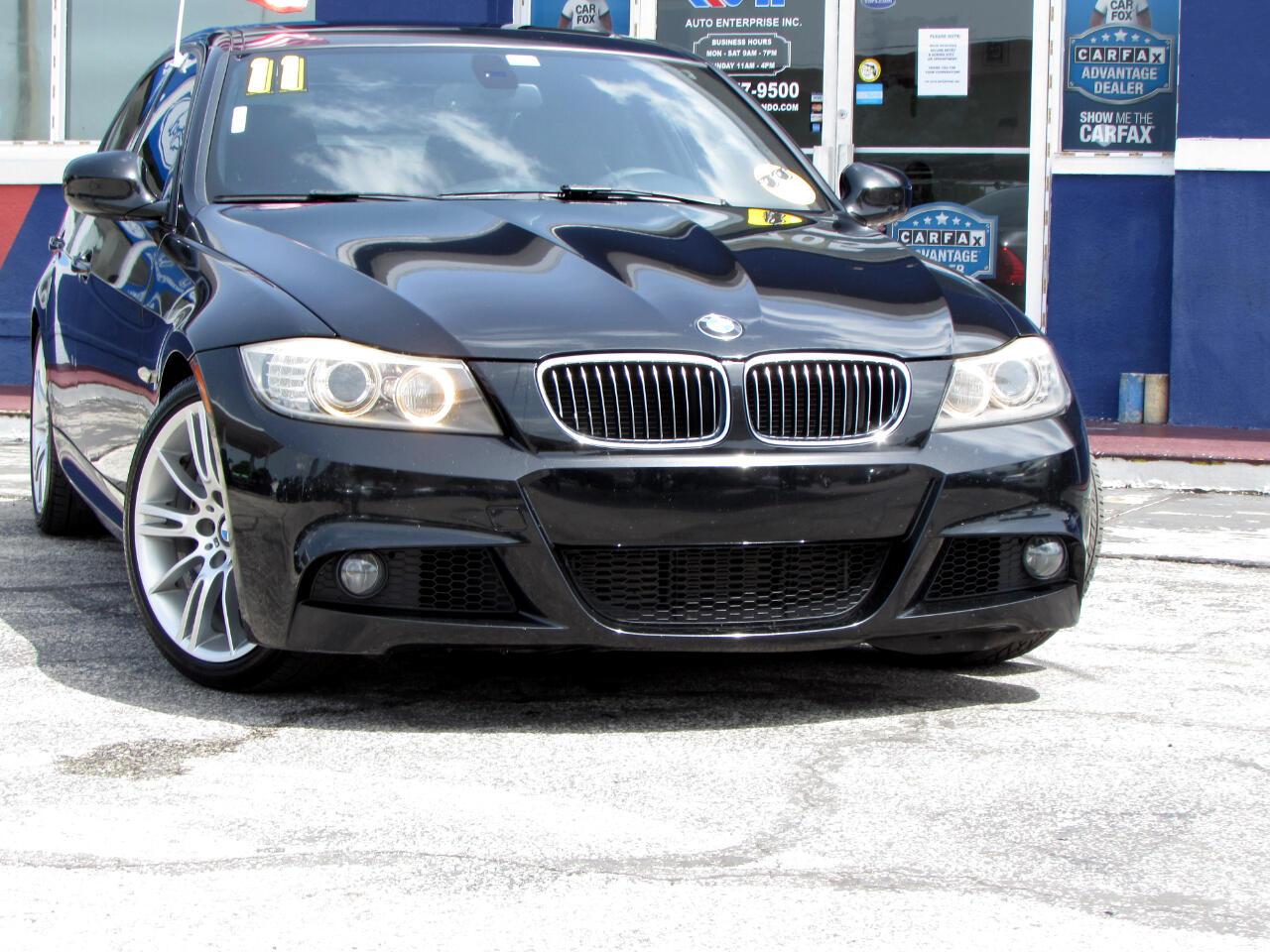 BMW 3 Series 4dr Sdn 335i RWD 2011