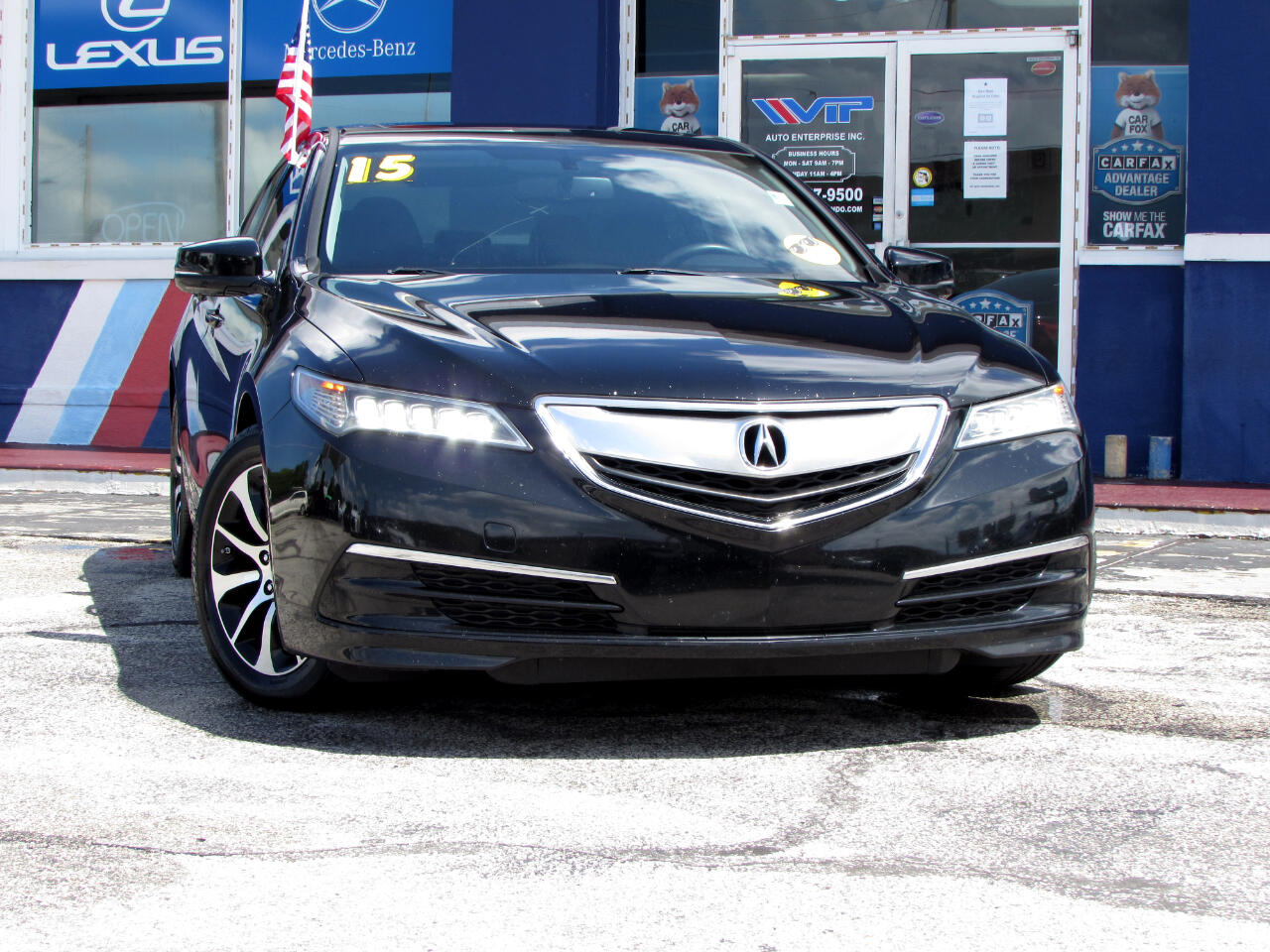 Acura TLX 4dr Sdn FWD 2015