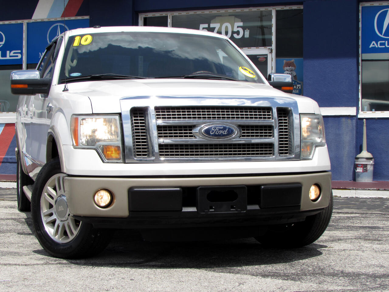 """Ford F-150 2WD SuperCrew 145"""" King Ranch 2010"""