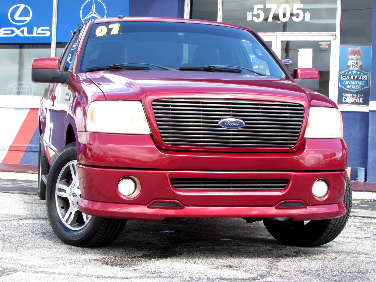 """Ford F-150 2WD SuperCab 145"""" FX2 2007"""