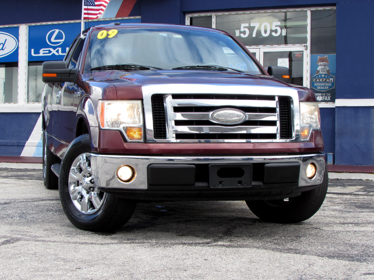"Ford F-150 2WD Supercab 133"" XLT 2009"