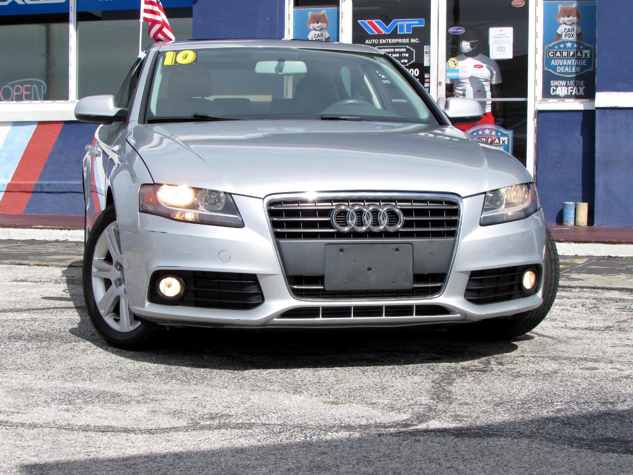 Audi A4 4dr Sdn CVT FrontTrak 2.0T Premium 2010