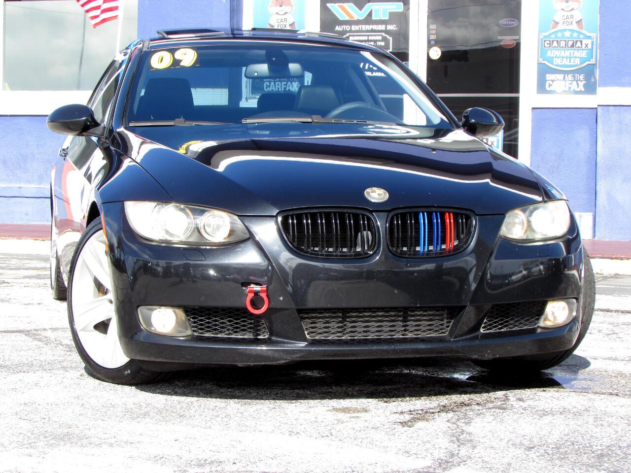 BMW 3 Series 2dr Cpe 335i RWD 2009