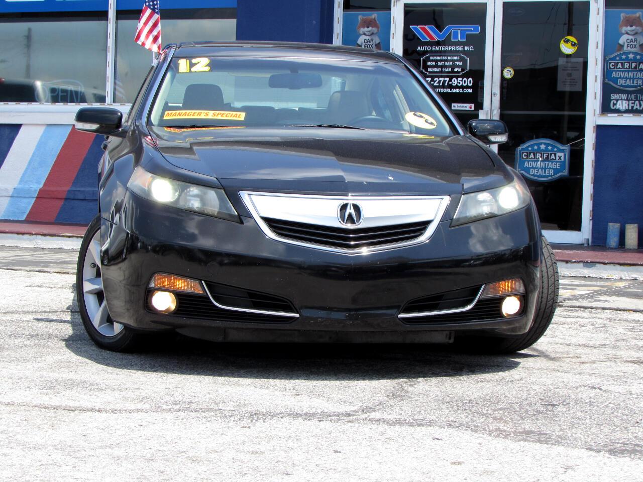 Acura TL 4dr Sdn Auto 2WD 2012