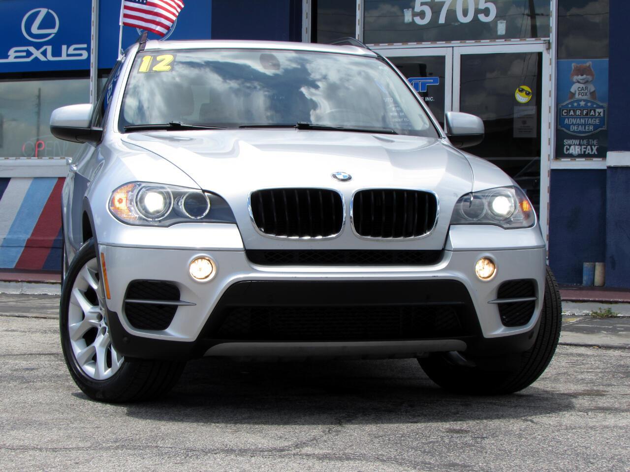 BMW X5 AWD 4dr 35i 2012