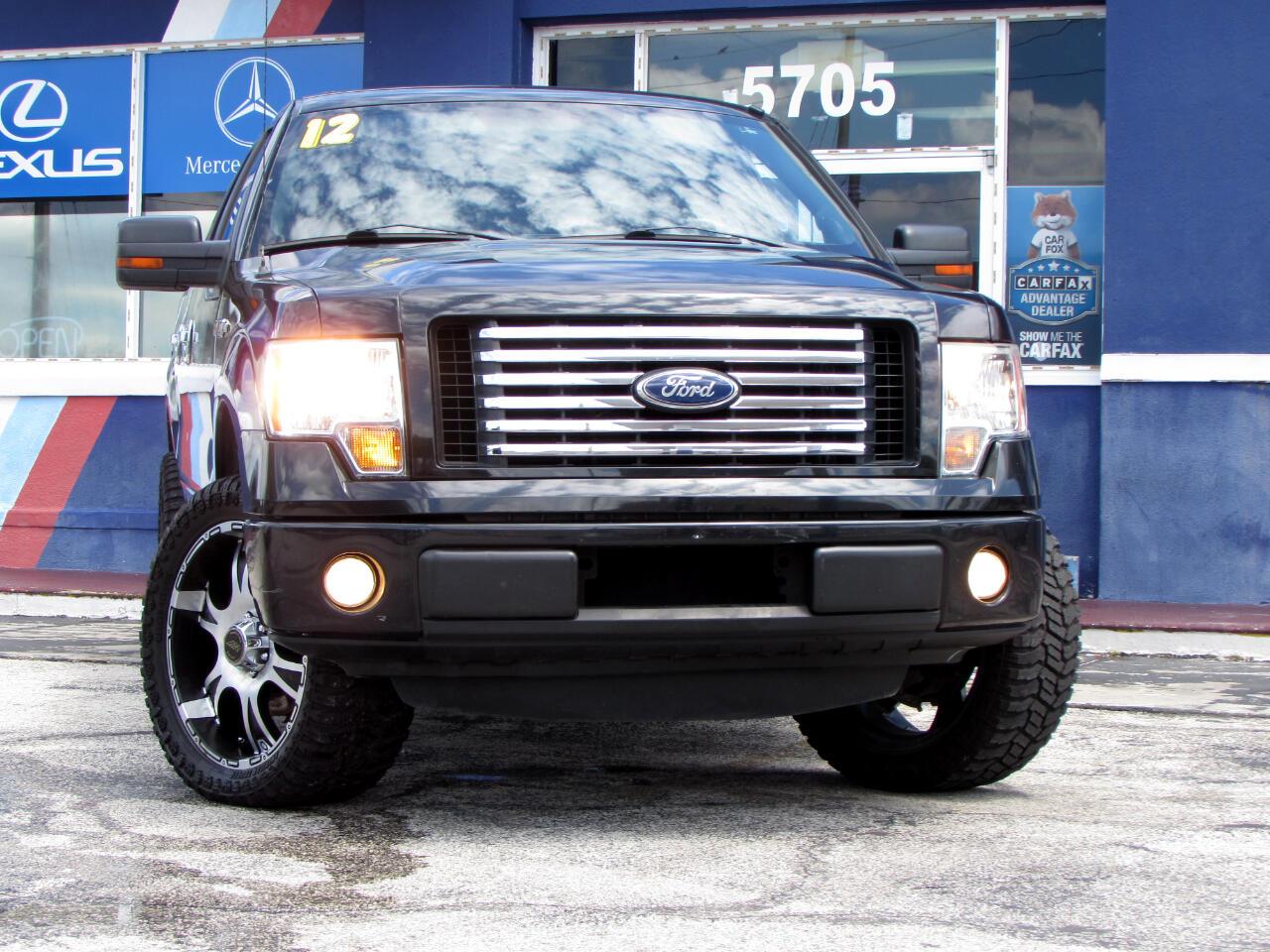 "Ford F-150 2WD SuperCrew 145"" XLT 2012"